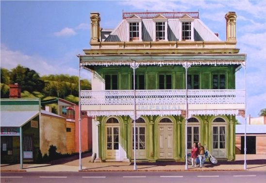Stephen Kaldor - A View of Ballarat with Lauretta Harley and me