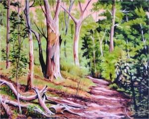 Stephen Kaldor - Bush track South Australia