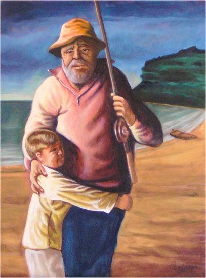 Stephen Kaldor - Fishing with Grandpa