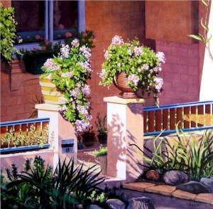 Stephen Kaldor - Kensington garden no.1