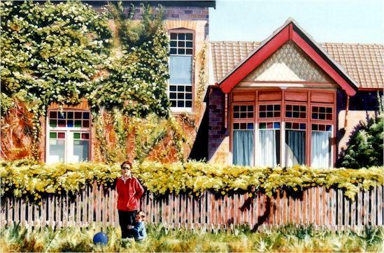 Stephen Kaldor - Nana's cottage in Kensington