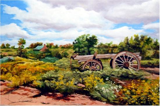 Stephen Kaldor - Rural Scene (NSW)