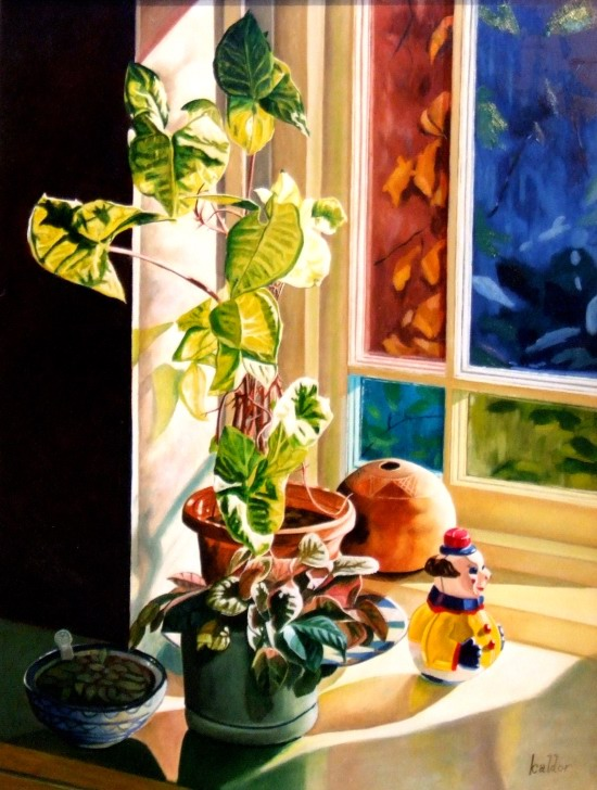 Stephen Kaldor - Still life with small clown