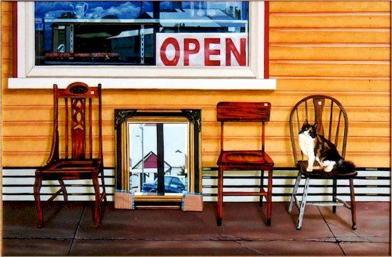 Stephen Kaldor - The Antique shop