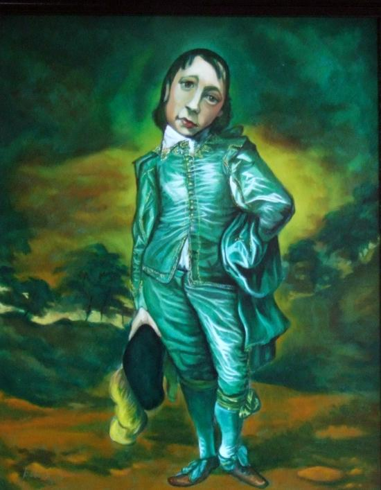 Stephen Kaldor - The Green Boy (A tribute to Gainsborough)
