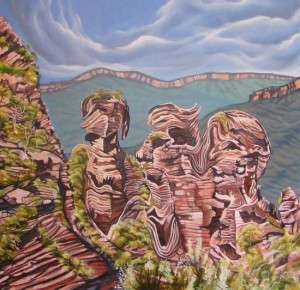 Stephen Kaldor - The Ugly Three Sisters of Katoomba